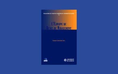 L'Europe de Denis de Rougemont